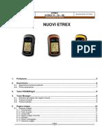 Considerazioni Utillizzo ETREX 30 Rev05