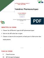 MP Pharmaceutiques L2 2018