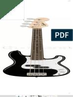 Fender Squier Mini P Bass Black – Thomann France