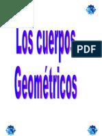 Los cuerpos geometricos