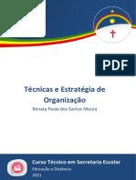Técnicas e Estratégia de Organização - Secretaria Escolar