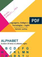 ANY   Alphabet spelling