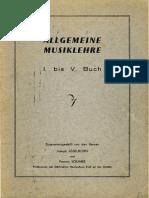 Allgemeine Musiklehre Josy Asselborn