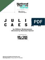 Julius Caesar Cast List