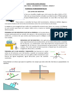TIPOS DE FUERZAS GRADO 6