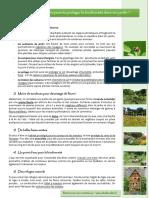 Préserver la biodiversité dans son jardin