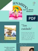 Según El Método Montessori