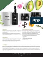 Ingredienti Principali beU Creme Skin Care