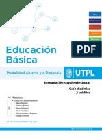 Guia Didáctica JORNADA TECNICO PROFESIONAL
