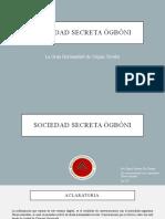 Sociedad secreta ògbóni