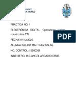 REPORTE PRACTICA 1 ELECTRONICA DIGITAL