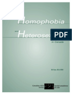 A New Look at Homophobia and Heterosexism in Canada