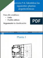 Ejercicio 9.4. Plantas arquitectónicas
