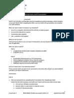 BSBCMM401 Assessment Task 2 (Autosaved)