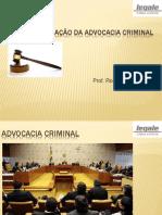 curso de iniciação a advocacia criminal