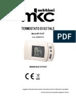 Melchioni HP-510T Thermostat