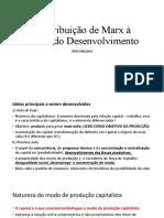 Contribuição de Marx à Teoria Do Desenvolvimento
