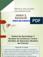 Sem 2a Ean Utp -Cgt-medidas Tendencia Central