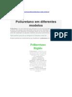 About  polyurethane