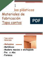 M 2 laminados plasticos- tapa cantos melaminicos