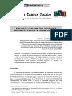 Avila, Humberto - Distinção entre principios e regras e a redefinicao do dever de proporcionalida