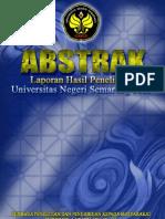 Abstrak Penelitian tahun 2009