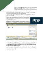 Describir el procedimiento para la instalación y configuración de Redes Peer to Peer desde el armado de los cables
