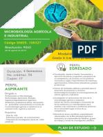 Publicidad plan de estudio Maestría Microbiología