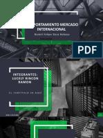 COMPORTAMIENTO mercado  INTERNACIONAL