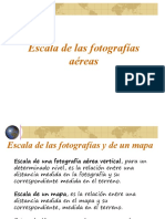 Escala de las fotografías aéreas2