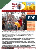 Hedon Blog Community News - Issue 1