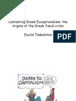 E. Tsakalotos - Conference March 2011