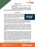 Decreto N°090 Santa Marta