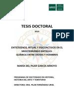 Enteógenos, Ritual y Psicoactivos en El Mediterraneo Antiguo_Tesis Doctoral 2018