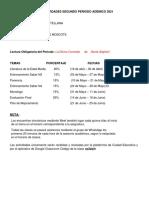 11° CRONOGRAMA DE ACTIVIDADES II PERIODO ADÉMICO 2021