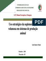 Aula 2- Plantas Forrageiras e Pastagens- Uso estratégico _da suplementação volumosa