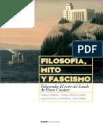 Varios - Filosofia Mito Y Fascismo