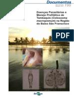 Doenças Parasitárias Piscicultura