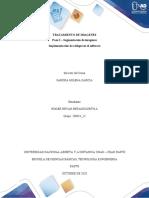 Implementación de códigos en el software - Paso 2