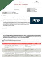 2017 i De6001 Derecho Procesal Penal i