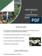 PIRETRÓIDES E GRUPOS BIPIRIPÍDICOS