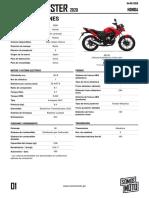 cb125f twister Honda