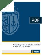 Análisis Filogenético de Variantes Circulantes de SARS-CoV-2 (Ecuador)