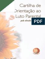 Cartilha de Orientação ao luto Parental