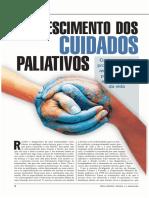 O crescimento dos cuidados paliativos