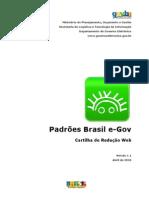 Padrões Brasil e-GOV - Cartilha de Redação Web v11