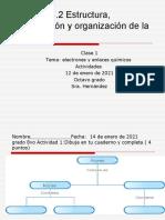 Clase 1estructura Basica Del Atomo y Sus Interacciones Actividades