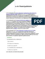 LEY 27972 - Ley Orgánica de Municipalidades