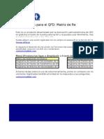 QFDLat Matriz de Relaciones V050704