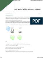 Cómo configurar la función WDS en los routers inalámbricos TP-Link (IU Verde)